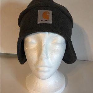 Carhartt Accessories - Carhartt Men's Gray Fleece 2-1 Headgear Hat